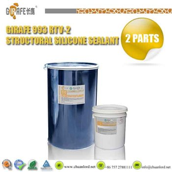 Girafe 993 Two Component Silicone Structural Sealant