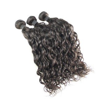 Raw Unprocessed Brazilian Hair, 10A Brazilian Virgin Hair Water Wave Wet and Wavy Virgin Brazilian Hair Extensions