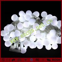 New style latest battery operated christmas light ball