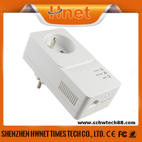 rj45 wifi HomePlug AV2 500Mbps plc Powerline Passthrough ethernet adapter