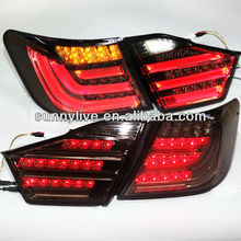 For TOYOTA Aurion Camry LED Tail Lamp 2012-13 year BMW Style Smoke Black Color V1