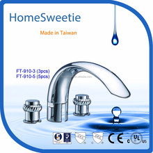 HomeSweetie-Solid Brass Knobs, faucet and shower Faucet Mixer