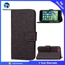 Alibaba China Factory Flip Wallet Case for iPhone 8 Plus Luxury PU Leather Case With Stand
