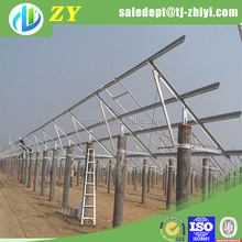 anodized aluminum solar panel frame and solar energy system