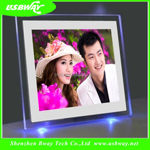 New Multi-functional 8 inch with LED digital photo frame night light night lamps for baby kids with remote control