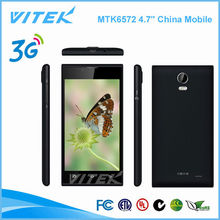 4.7 inch MTK6572 1500mAH battery projector China Mobile Phone