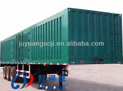 best selling cargo semi trailer house,3 axles truck cargo boxes,side open truck