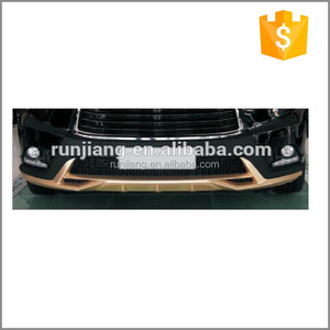 Luxury Gold Front & Rear Bumpers for Toyotas Highlanders 2015