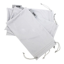 Factory Price Drawstring Microfiber Pouch Bag