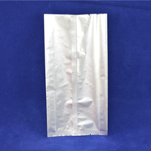 China factory wholesale zipper stand up aluminum foil packaging bag for packing seeds 100g
