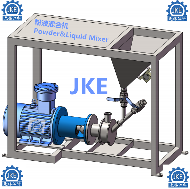 PLM Pharmacuetical Powder Liquid Mixer Homogenizer