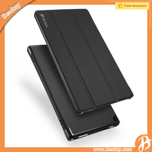High Quality Leather Flip Tablet Cover Case For Amazon kindle Fire HD8