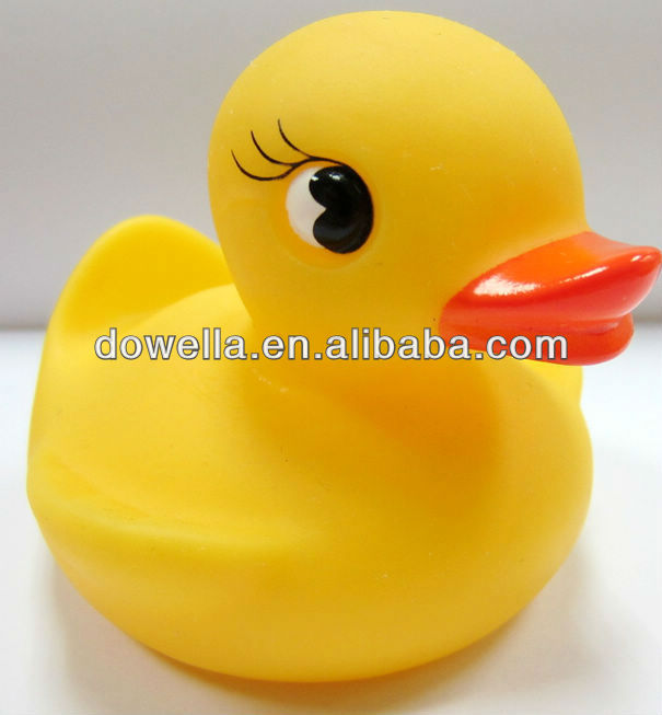 New fashion big eyes rubber duck for baby