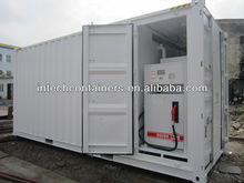 20ft Containerized skid-mounted refueling station