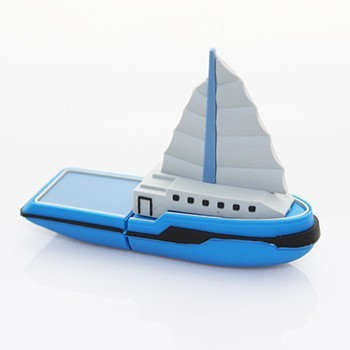 Wholsale cartoon sailing ship USB Flash Drive,pen drive,Usb Memory Stick