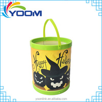 2015 Patented Exclusive Design Solar Halloween Bucket LED Light Multi Functions
