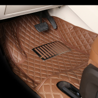 High quality full set anti slip leather custom car floor carpet mat for BMW 3 Series 2 doors convertible