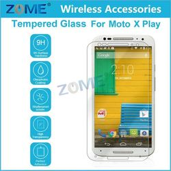 Alibaba Express Mobile Phone Premium 2.5D Real For Moto X Play Tempered Glass Screen Protector Film