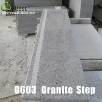 High Quality Natural G603 Grey Granite Stair for Indoor Decoration