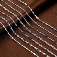 fashion base chain 925 sterling silver jewelry necklace