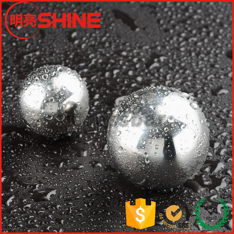 25.4mm 40mm 50mm Cooling Stainless Steel Round Ice Ball For Whiskey