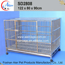 Manufacurer dog cage singapore sale dog cages stainless steel