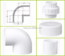 pvc 3 inch round pipe end cap