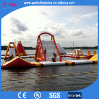 TOP giant inflatable floating water park / inflatable water park equipment price