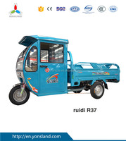 Heavy Loading Van Electrical Tricycle for Cargo/Passenger Strong Motor