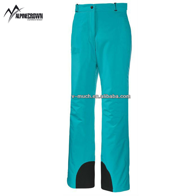 custom new colorful and fashion warm ski pants