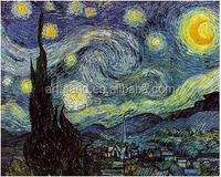 High quality fine art reproductions of Vangogh starry night