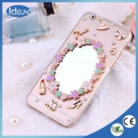2015 Luxury Rhinestone Crystal bling crystal cell phone case for iPhone and saumsung