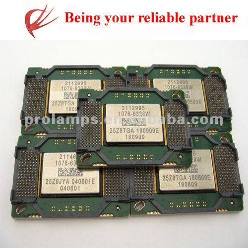 DMD chip 1076-6328W for many projectors