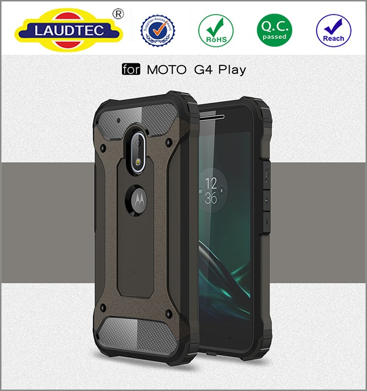 Hybrid Hard Shockproof case for Moto G4 Play , Armor bumper back cover case for Moto G4 Play