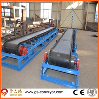 conveyors and conveyor systems for boxes transport,ISO Length 70meter box belt conveyor for Iran market.