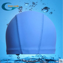 summer cool high quality PU coating nylon swimming caps