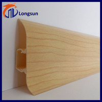 Longsun pvc skirting molding / wall corner chair rail
