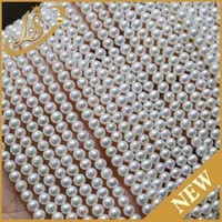 Factory wholesale cheap price white natural pearl strand