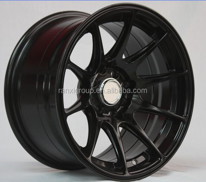 concave black wheel 5x100/5x114.3 aluminum wheel rim/ car alloy wheel 19""