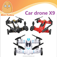 hot sales Syma X9 2.4G 4CH 6-AXIS Gyro Flying Car Rc Quadcopter Drone 3D Rolling