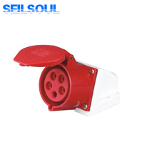 SSL-115 Explosion Proof 3P+E+N 6H Industrial Plug Socket 5P 32A