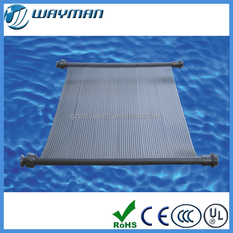 Black reducing pool heating costs swimming pool solar for Heated pools for sale