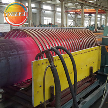 Large Diameter Seamless Steel Pipe Line Induction Expansion Machine