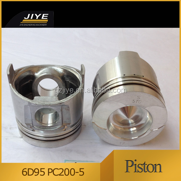 spare part for 6d95l-1 piston , piston ring, piston pin