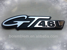 chrome GT4.0L custom car emblem badge logo