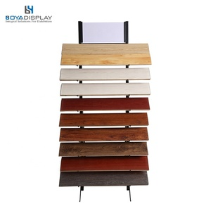 Metal Display Fixture Ceramic Tile Shelf Floor Display Rack Tile Display Stand In Stock