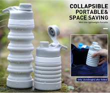 Eco-Friendly Feature and Water Bottles Drinkware Type Collapsible Water Bottle