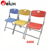 modern school step desk chair waiting hall folding table chair G606