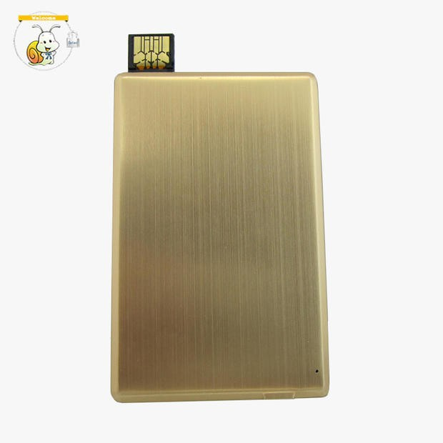 Electornics mini projects slim portable metal card usb flash drive power bank for mobile 1000mah