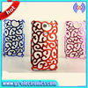 Flower Electroplated Hollow Out Back Case For Samsung GALAXY Note 2 N7100